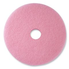 "3M Series 3600 19"" Pink High Speed Burnishing Pad"