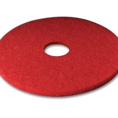 "3M Series 5100 20"" Red Low Speed (Wet/Dry) Burnishing Pad"