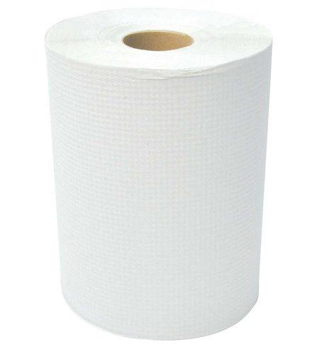 "Papier À Mains Blanc DIAMOND En Rlx 8"" X 425'"