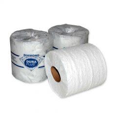 Papier Hygiénique Blanc DIAMOND 2 Pli DURA PLUS 500 Feuilles/Rlx