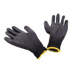 12-pairs--Nylon---PU-palm-coated-electronic-Anti-static-Gloves-701136-